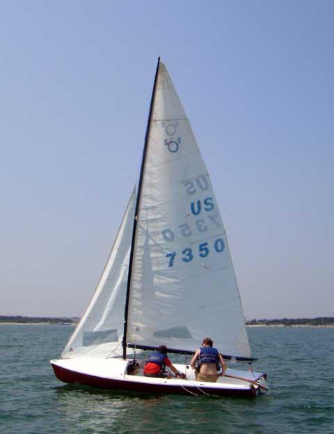 International 505 sailboat