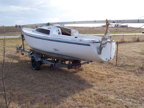 Irwin 21 sailboat