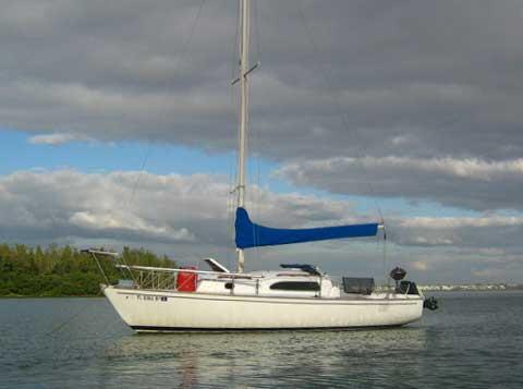 Irwin 23 sailboat