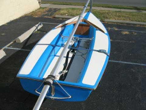 Capri Cyclone 13 sailboat