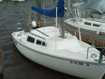 1978 Catalina 22 Sailboat For Sale