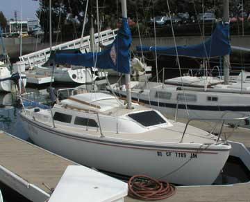 1988 Catalina 22 sailboat