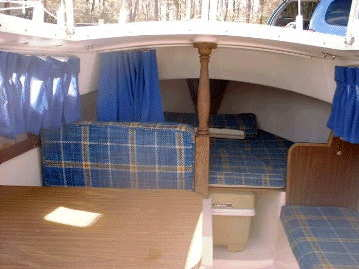 1977 Catalina 22 cabin