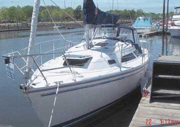 1999 Catalina 270 sailboat