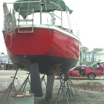 1976 Catalina 27 tall rig