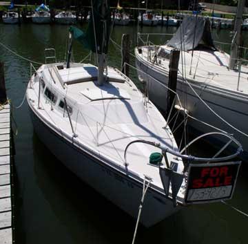 1974 Catalina 27 sailboat