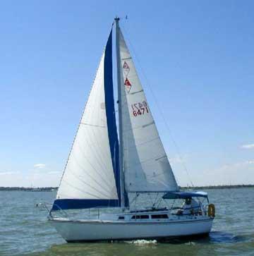 1988 Catalina 27 sailboat