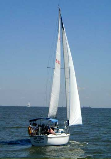 1988 Catalina 27 sailboat for sale