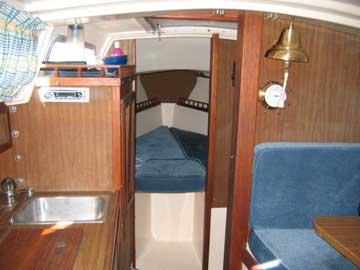 1976 Catalina 27 sailboat