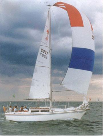 1985 Catalina 27 sailboat