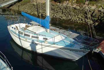 1976 Catalina 30 sailboat