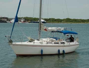 1984 Catalina 30 sailboat