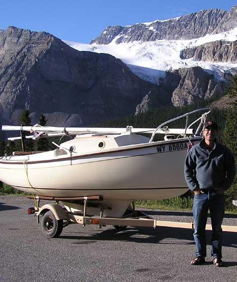ComPac 16 at Crowfoot Glacier