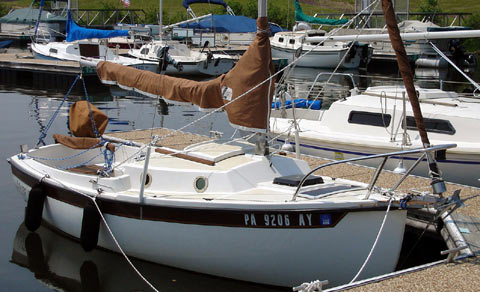 Compac 16 3 Sailboat For Sale