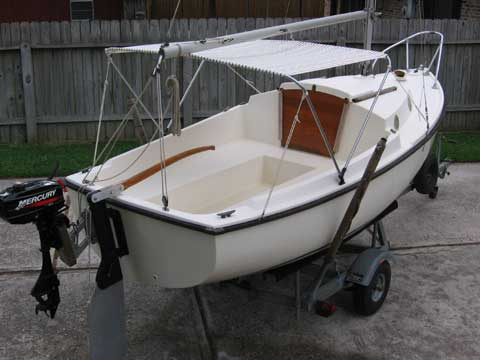 Wooden Sailboats For Sale >> ComPac 16 sailboat for sale