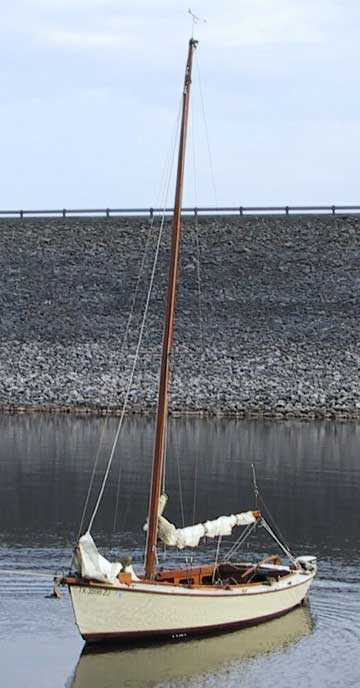 Wooden Sailboats For Sale >> 1984 Custom 18 Wooden Sailboat For Sale