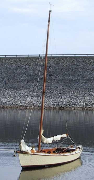 1984 Custom 18 Wooden Sailboat For Sale