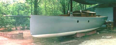 Custom 34 sailboat