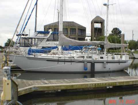 Custom 45 sailboat