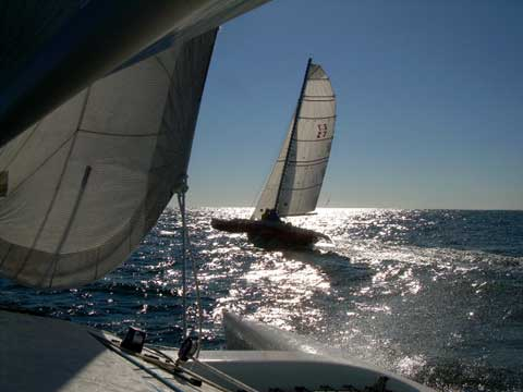 Discovery 20 trimaran sailboat