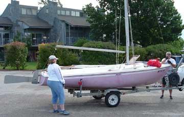 1973 Dolphin 17 sailboat