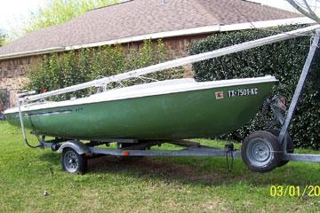 1974 Dolphin 17 sailboat