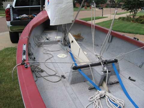 Flying Juniorsailboat
