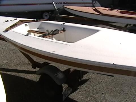 Force 5 sailing boat