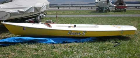 Force 5 sailboat