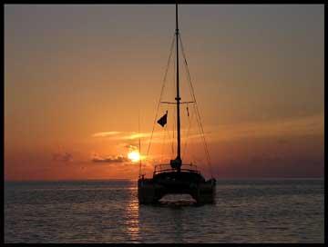 1994 Fountaine Pajot Venezia 42 sailboat