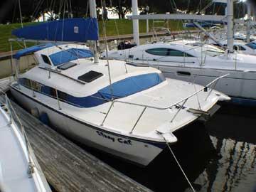 1986 Gemini 3000 Catamaran 30 Yacht For Sale