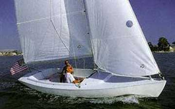 2001 Harbor 20 sailboat