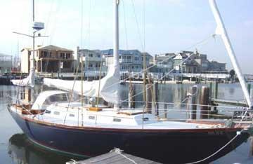 1964 Hinckley Bermuda 40 sailboat