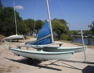 1981 Hobie 14 Turbo sailboat