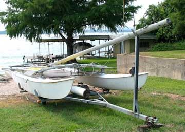 1973 Hobie 16 sailboat