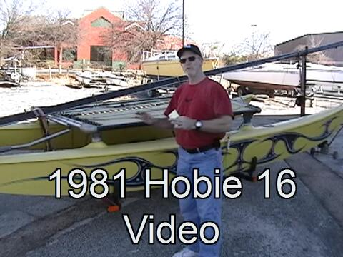 Click for broadband Hobie 16 video