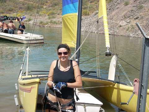 Hobie 18 sailboat