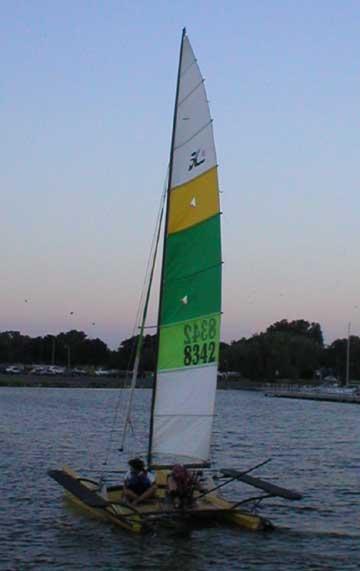 1982 Hobie 18 sailboat
