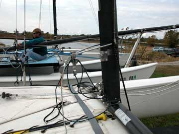 1987 Hobie 18 sailboat