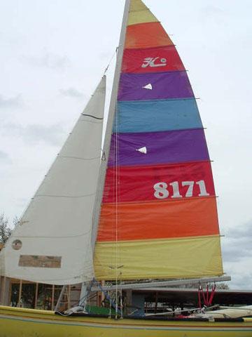 1982 Hobie 18