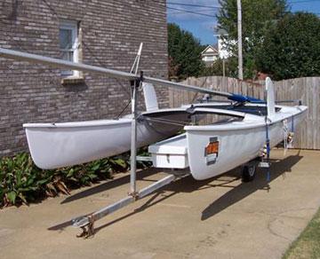 1980 Hobie Cat 18 sailboat