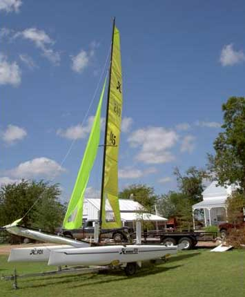 2000 Hobie Fox sailboat