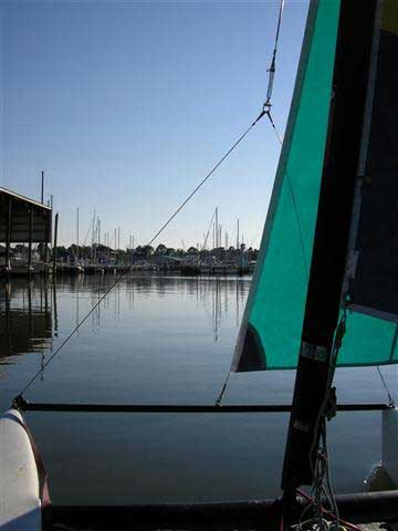 1997 Hobie Wave sailboat