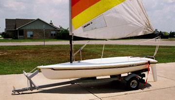1986 Hobie Holder 12 sailboat for sale