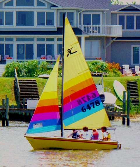 Hobie Holder 14 sailboat