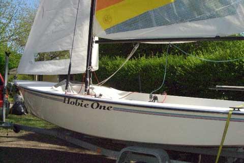 Hobie One 14 sailboat