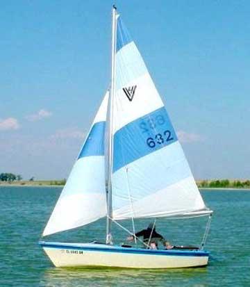 1979 Holder Vagabond 14 sailboat