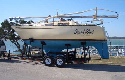 Hughes 26E sailboat