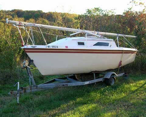 Hunter Sailboats For Sale >> Hunter 20 sailboat for sale
