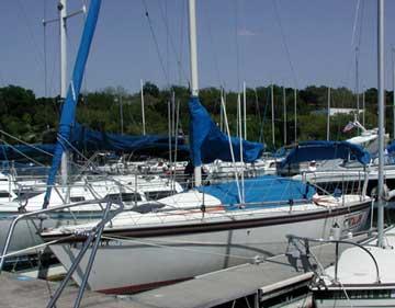 1985 Hunter 25.5 sailboat